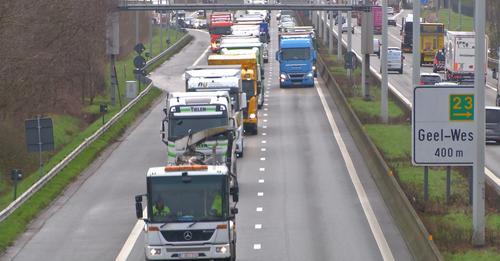 Corona had impact op verkeersdrukte